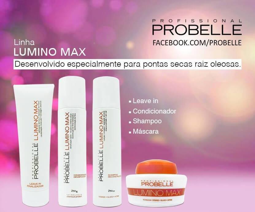 655ea586b1 ... Probelle Lumino Max Kit Nutrição (p  Raiz Oleosa e Pontas secas) ...