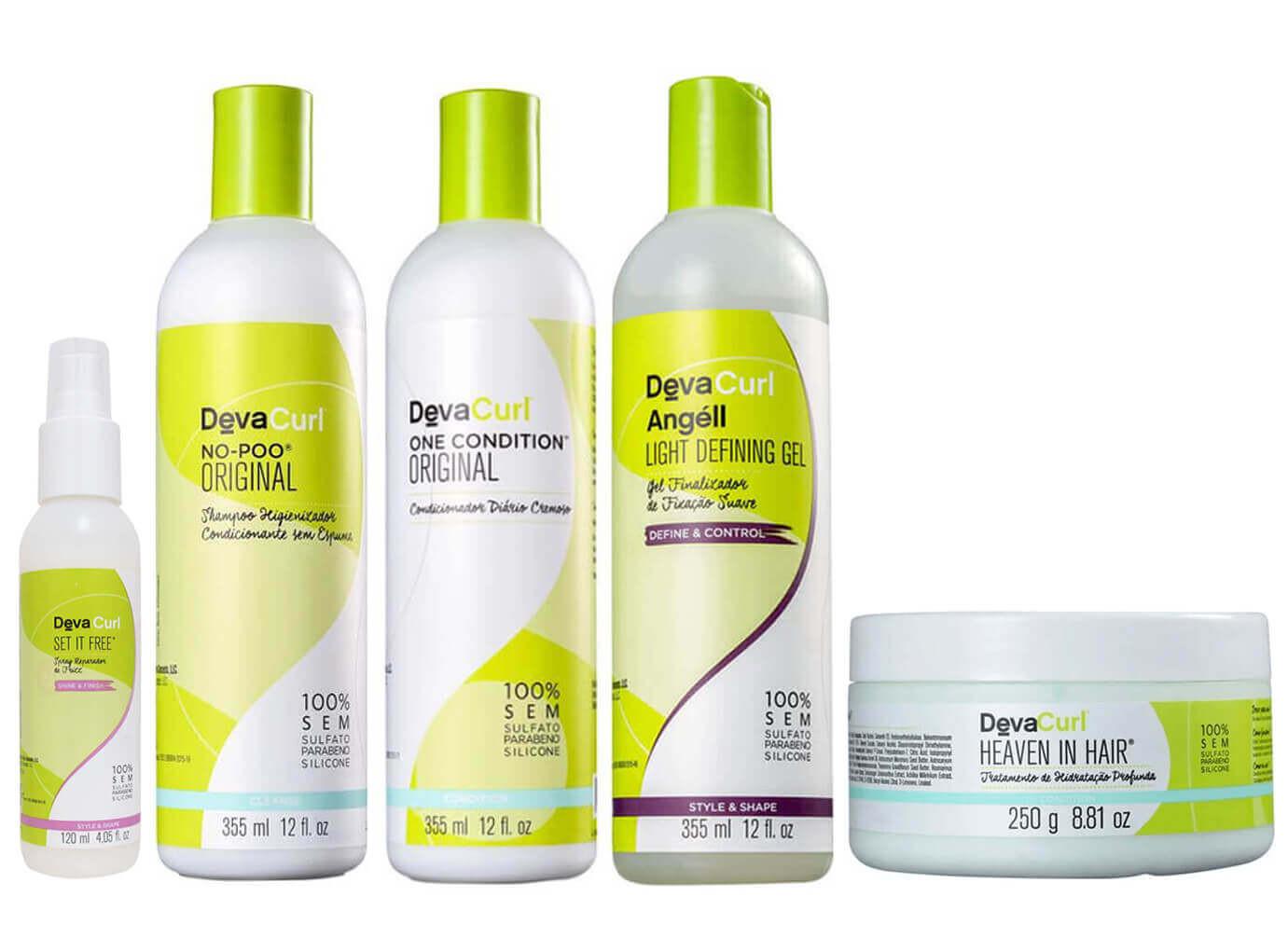 973908daa Comprar Deva Curl Kit 355ml Cachos c/ 5 Produtos