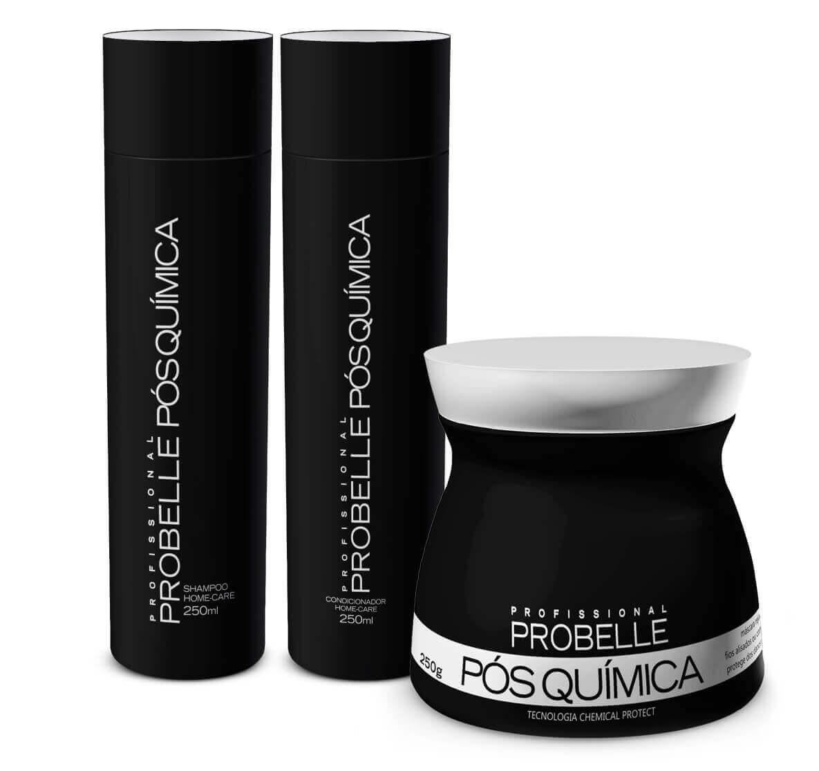 Comprar Probelle Kit Pós Química Profissional (kit 3 produtos) - 250ml be2b0817caa