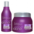 Forever Liss Platinum Blond Kit Matizador Shp 300ml + Mascara 250g