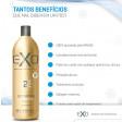 Exo Hair Passo 2 Exoplastia 1 Litro - Progressiva Alisamento S/ Formol