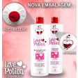 Love Potion Kit Escova Progressiva + Lovetox Bt.ox + Gelatina 1Kg