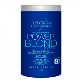 Forever Liss Pó Descolorante Azul Power Blond - 450g