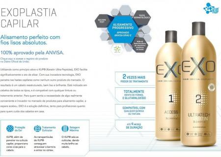 Progressiva Exo Hair Passo 2 Exoplastia Ultratech Keratin - 500ml