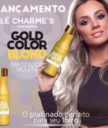 Le Charmes Gold Matizador Juju Intensy Color - Perolado 500ml