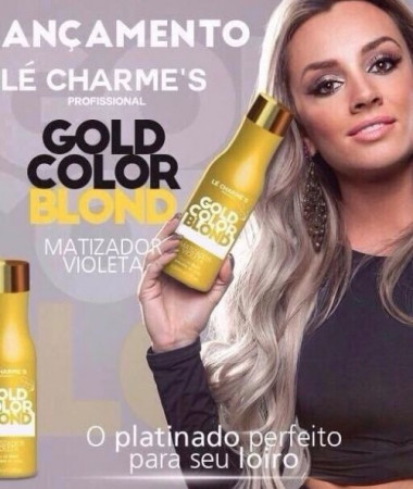 Le Charmes Gold Matizador Juju Intensy Color - Perolado 500ml