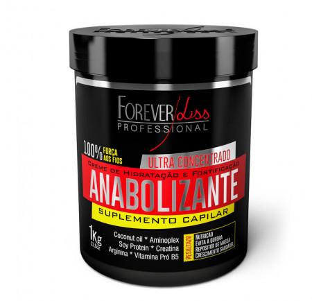 Forever Liss Anabolizante Capilar 950g+ Shampoo Anabolizante 1L