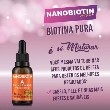 Nanobiotin A Biotina Blend de Ervas 30ml