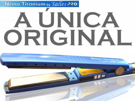Prancha Profissional Nano Titanium 1 1/4 By Salles - 110v