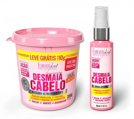 Desmaia Cabelo Serum + Mascara 350g - Forever Liss