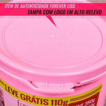 Desmaia Cabelo Pequeno 350g - Forever Liss Máscara Ultra Hidratante