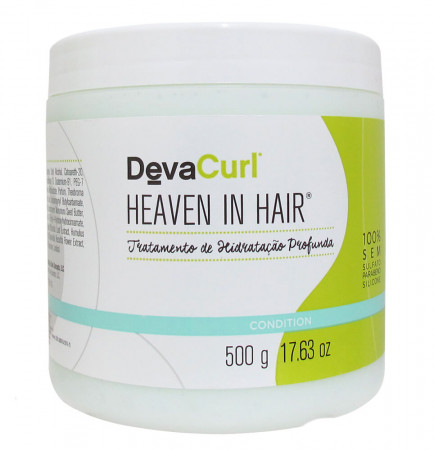 Deva Curl Heaven in Hair Máscara Hidratação Profunda - 500g