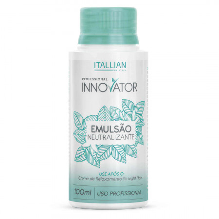 Itallian Innovator Emulsão Neutralizante Straight Hair 100ml