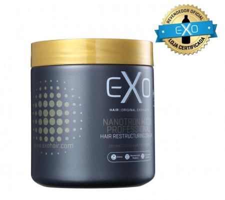 Exo Hair Mascara Nanotron 25 ativos Hidratação Reconstrutora - 500g