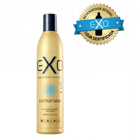 Exo Hair Exotrat Nano Shampoo Home Use Manutenção 350ml