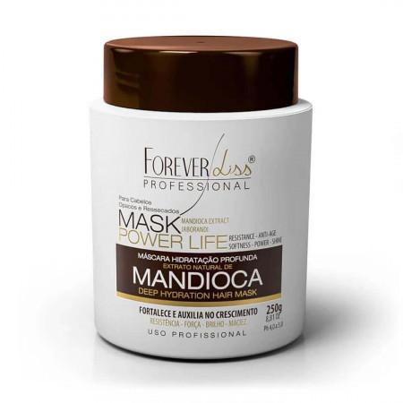 Forever Liss Mandioca Power Life Máscara Hidratante 250g