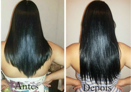 Forever Liss Cresce Cabelo Kit Fitoterápico Shp 500ml + Mascara 250g