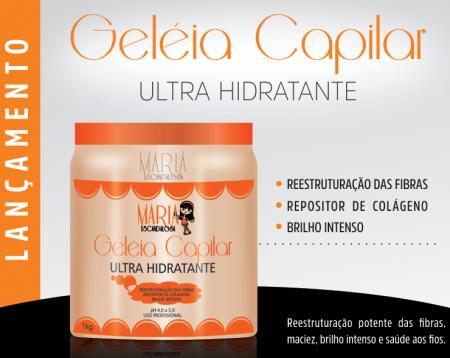 Maria Escandalosa Geléia Gelatina Capilar Hidratante 1kg