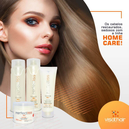 Perfect Liss Turmalina Kit Duo Manutenção Home Care (2X400ml)