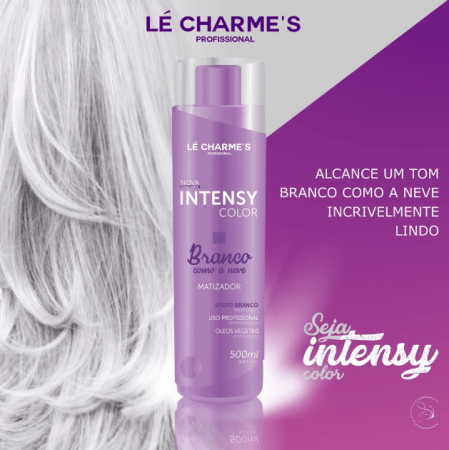 Le Charmes Intensy Color Matizador Branco Como a Neve 300ml