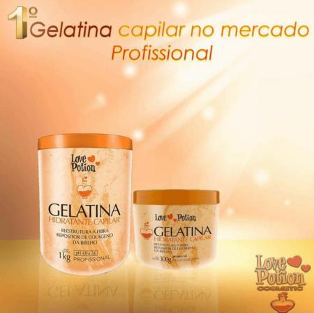 Love Potion Gelatina Capilar Hidratante pequena