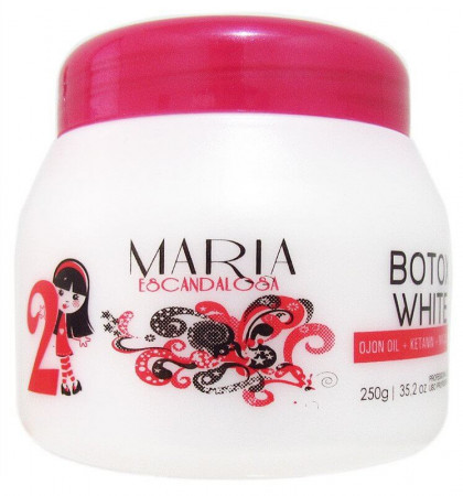 Maria Escandalosa Bt.ox White Ojon Argan - 250g