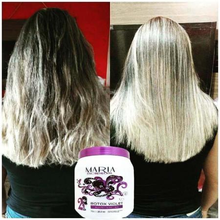Maria Escandalosa Bt.ox Violet Matizador Loiras - 250g