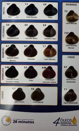 Coloração Poderosacor 7.1 Louro Acinzentado S/ Amônia (Grátis OX)