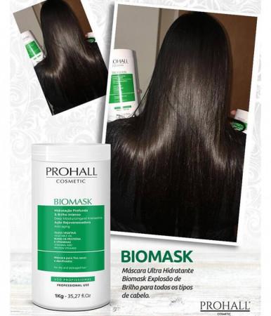 Prohall Biomask Explosão de Brilho Máscara Ultra Hidratante 300g