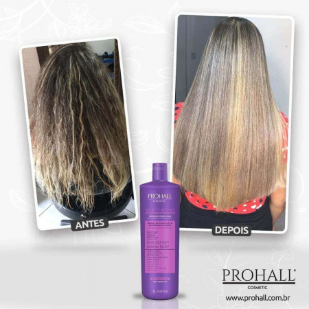 Prohall Escova Progressiva Select Blond S/ Formol 1 Litro