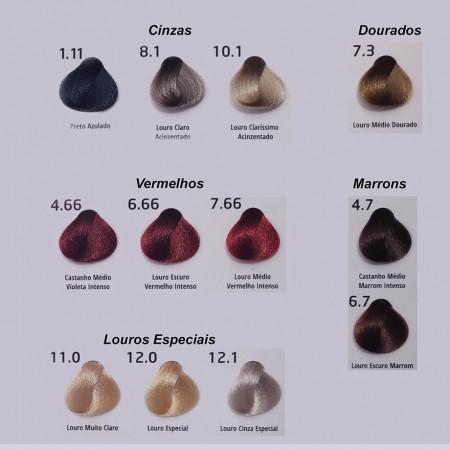 Probelle Coloração Especialista Profissional 2.8 Preto Azulado Pérola