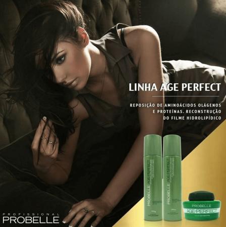 Probelle Kit Age Perfect p/ Finos e Fragilizados (3pc)