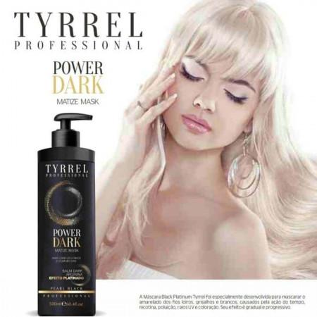 Tyrrel Power Dark Máscara Black Matizadora Efeito Platinado 500ml