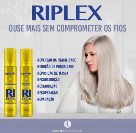 Kit Richée Riplex Protetor Descoloração Saudável E Repositor (2x110ml)