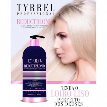 Tyrrel Reduct Blond Escova Progressiva Sem Formol p/ Loiras 1Litro