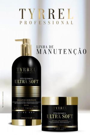 Tyrrel Ultra Soft Kit Manutenção Pós Química Shampoo + Máscara 250g