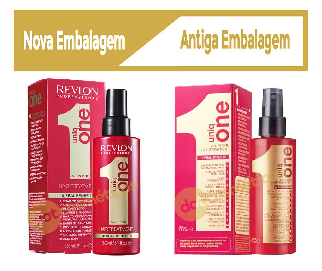 Uniq one Revlon nova embalagem