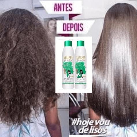 Maria Escandalosa antes e depois
