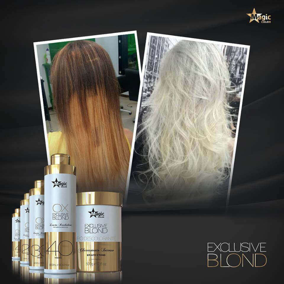 Magic Color Blond Resultado